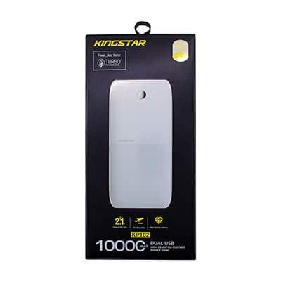 پاوربانک (شارژر همراه) کینگ استار مدل KP102 ظرفیت 10000 میلی آمپر ساعت