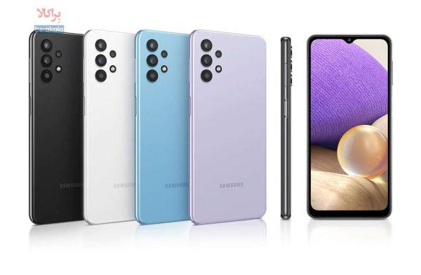 گوشی موبایل سامسونگ  galaxy A32 SM-A325F/DS ظرفیت 128 گیگابایت رم 6 گیگابایت